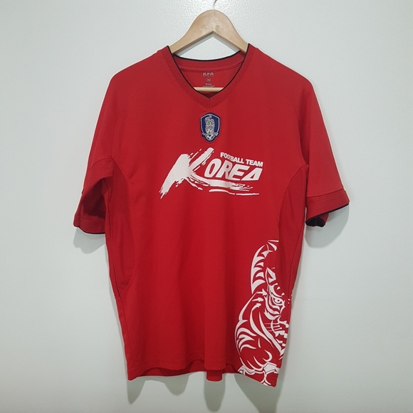 Korean Football Association Other - South Korean National Team Soccer Jersey  Red 3d96569b4